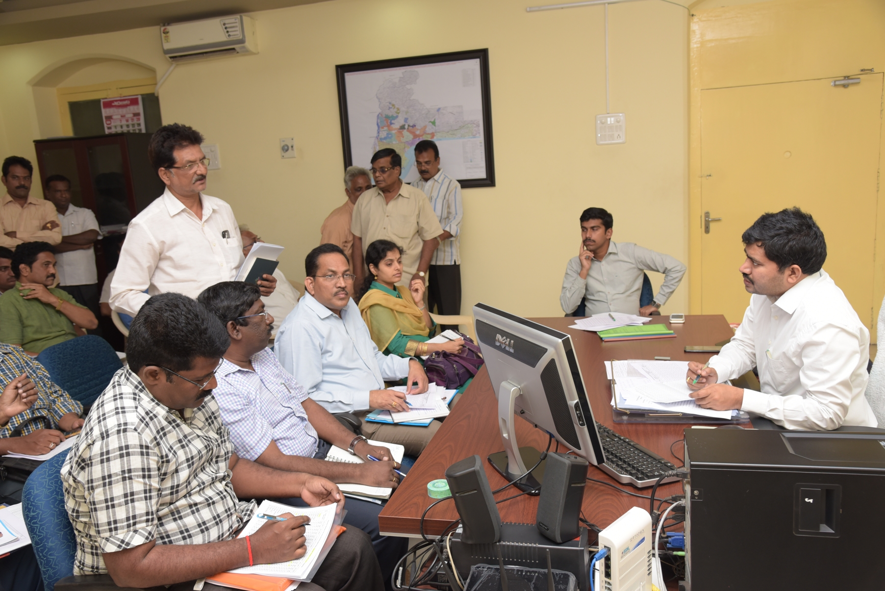 JC meeting on price hike of certain commodities in market and at Rytu bazars photos